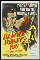 I'll Never Forget You  1951 DVD - Tyrone Power / Ann Blyth